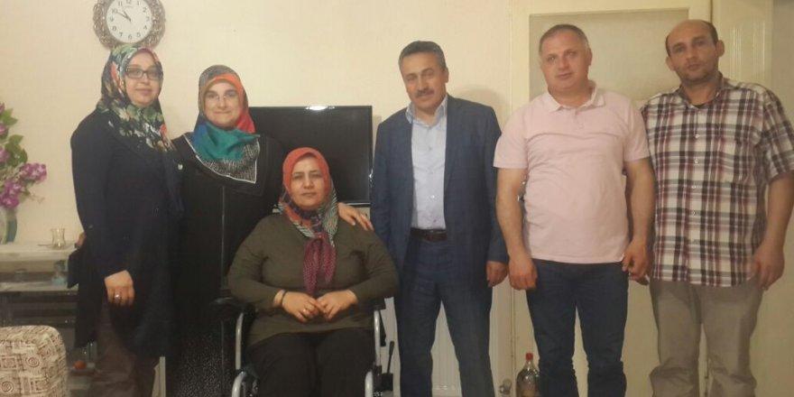 Seydişehir'de engelli vatandaşa akülü araba