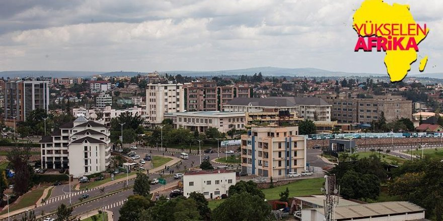 Afrika'nın huzur ve güven şehri Kigali
