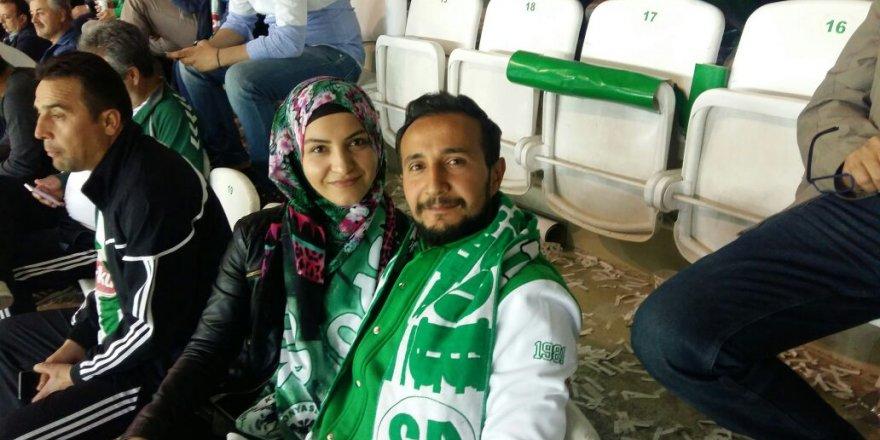 Sarı çifti Konyaspor'un tam destekçisi