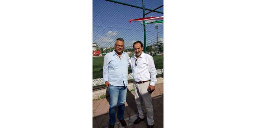 Nogay Futbol Turnuvası'nda iki isim birlikte