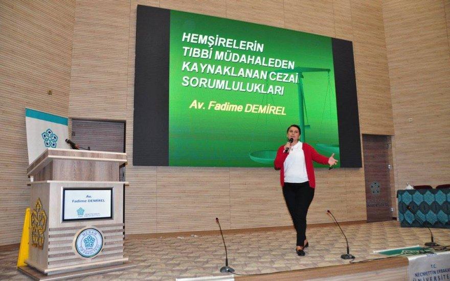 NEÜ'de Dünya Hemşireler Günü Çalışan Güvenliği Sempozyumu yapıldı