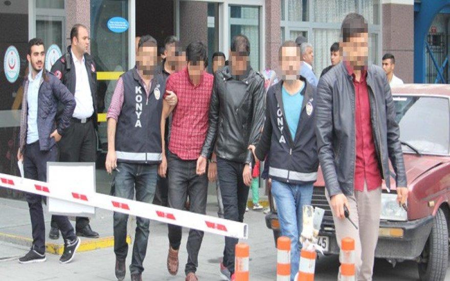 Konya'da Kaçırılan İranlı mühendis de tutuklandı