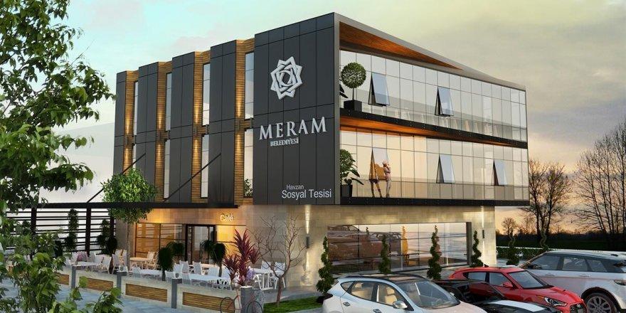 Meram Belediyesinden Havzan'a  sosyal tesis