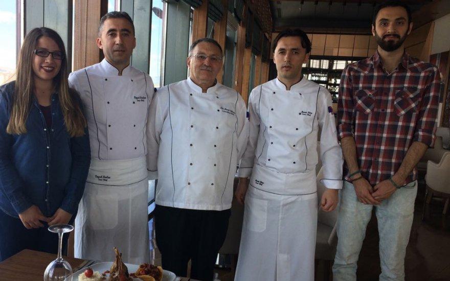 PUSULA TV Ramada Otel şefleriyle