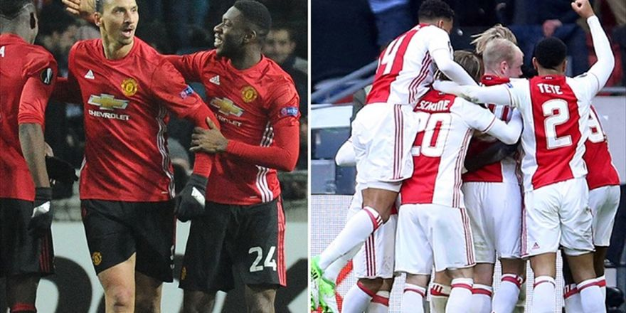 Ajax İkinci Manchester United İse İlk Kupanın Peşinde