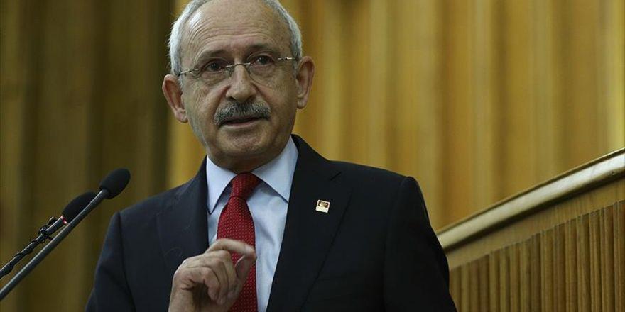 Chp Genel Başkanı Kılıçdaroğlu: Hep Birlikte Teröre Karşı Durmalıyız