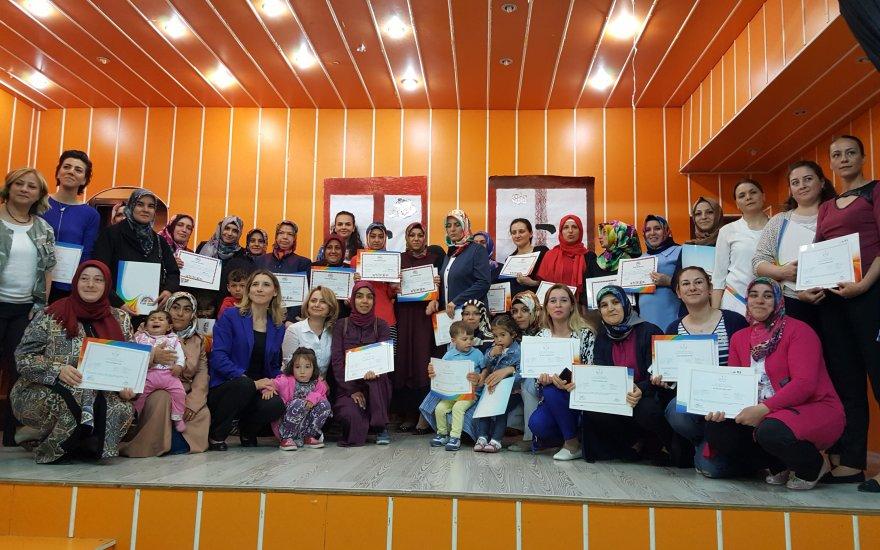 Aile Eğitimi sertifikaları verildi