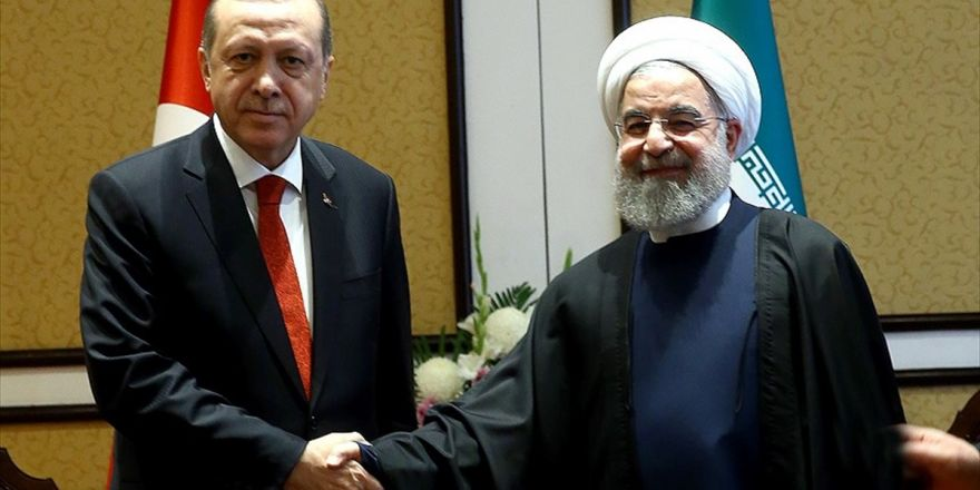 Cumhurbaşkanı Erdoğan, Ruhani'yi Tebrik Etti