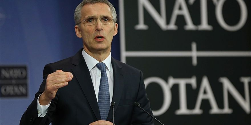 Nato Genel Sekreteri Stoltenberg: Nato'nun Muharip Rol Üstlenmesi İçin Bir Talep Yok