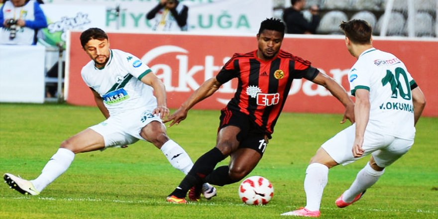 Süper Lig yolunda avantaj Eskişehir'de!
