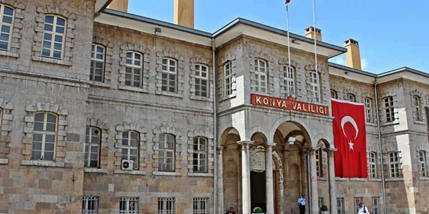 Konya'da memurluktan çıkarılan kişi sayısı