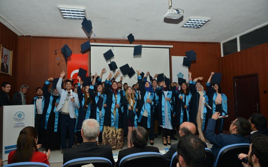 NEÜ Adalet Meslek Yüksekokulu ilk mezunlarını verdi