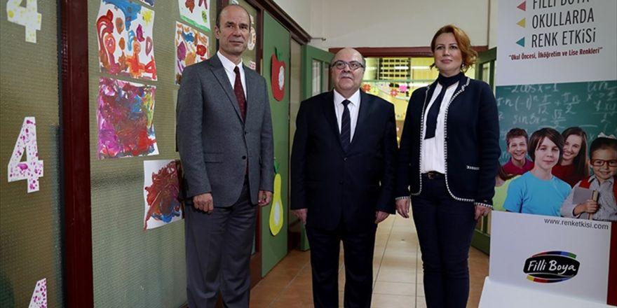 """""""Okullarda Renk Etkisi Projesi"""" Başladı"""