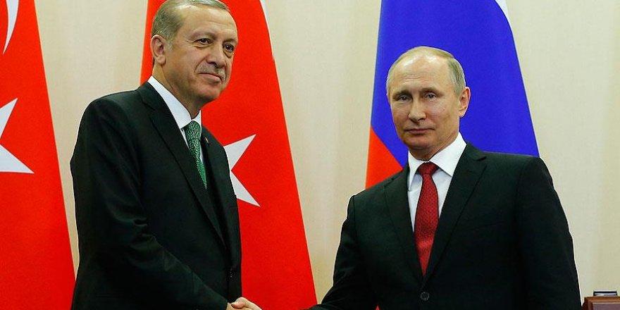 Erdoğan ile Putin telefon görüşmesi yaptı