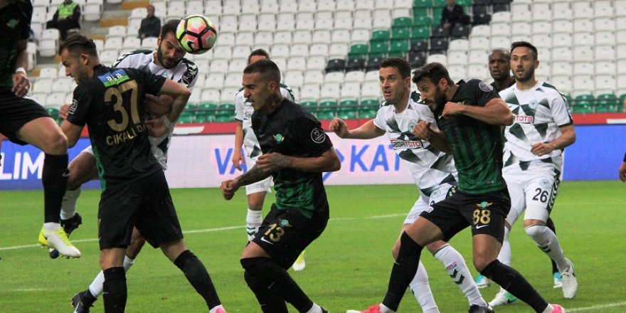 Atiker Konyaspor: 0 - Akhisar Belediyespor: 3