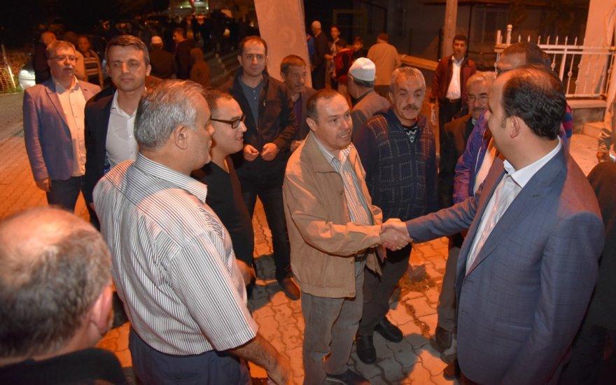 Başkan Altay, teravih buluşmaları  sürdürüyor
