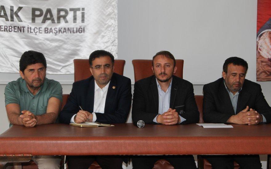 AK Parti Derbent Danışma Meclis Toplantısı yapıldı