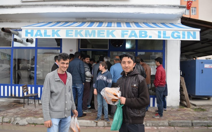 Ilgın'da Ramazan Pidesine Zam Yapılmadı
