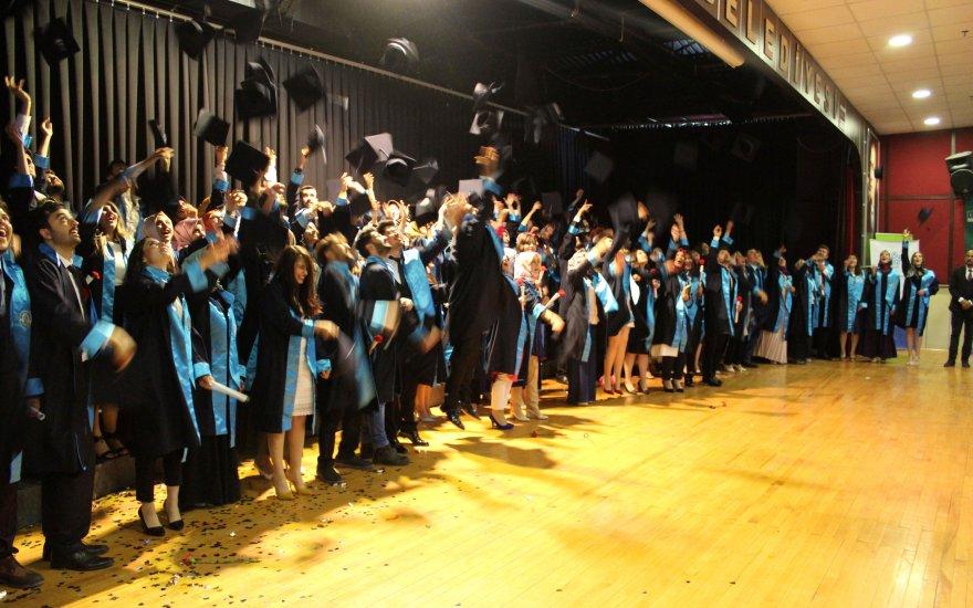 NEÜ Ereğli Eğitim Fakültesinde 4. dönem mezuniyet coşkusu yaşandı