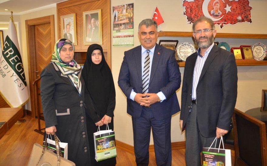 Başkan Özgüven'den Türkiye birincisine ödül