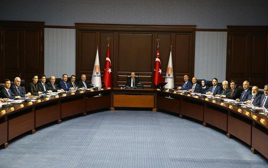 Erdoğan'ın A Takımı açıklandı