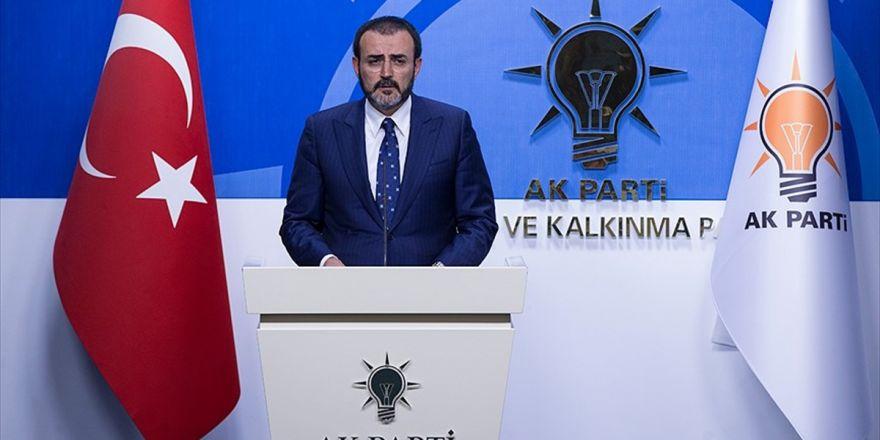 Ak Parti Genel Başkan Yardımcısı Ve Parti Sözcüsü Ünal:türkiye'de Siyaset Asla Eskisi Gibi Olmayacak