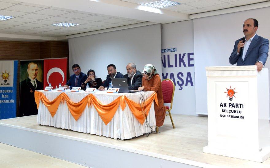 AK Parti Selçuklu Danışma Meclisi toplantısı yapıldı