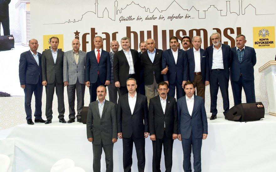 """""""Birlikte Konya'yız duygusuyla çalışıyoruz"""""""