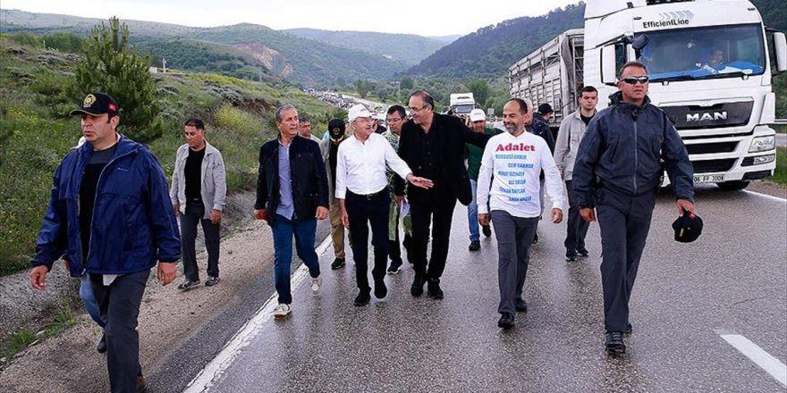 Kılıçdaroğlu Tepki Yürüyüşünün 7. Gününü Tamamladı