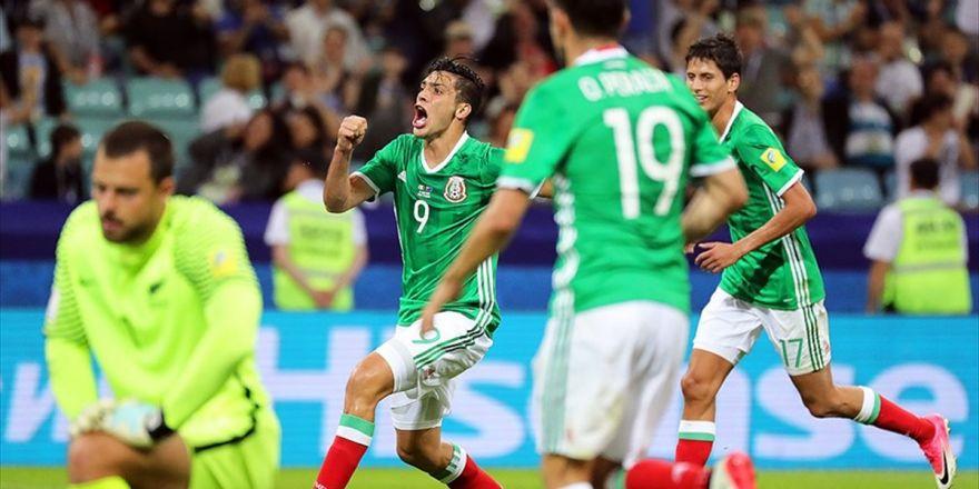 Meksika, Yeni Zelanda'yı 2 Golle Geçti