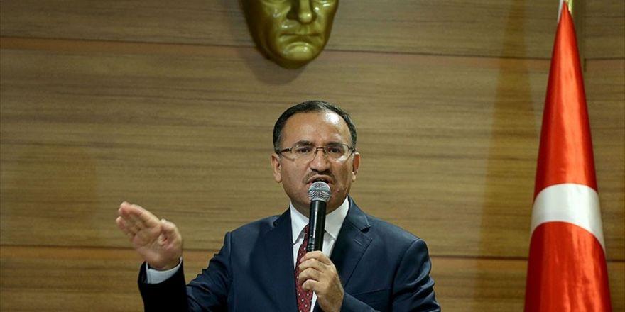 Adalet Bakanı Bozdağ: Siyasal Hesaplaşmanız Varsa Buna Türkiye'nin Yargısını Alet Etmeyin