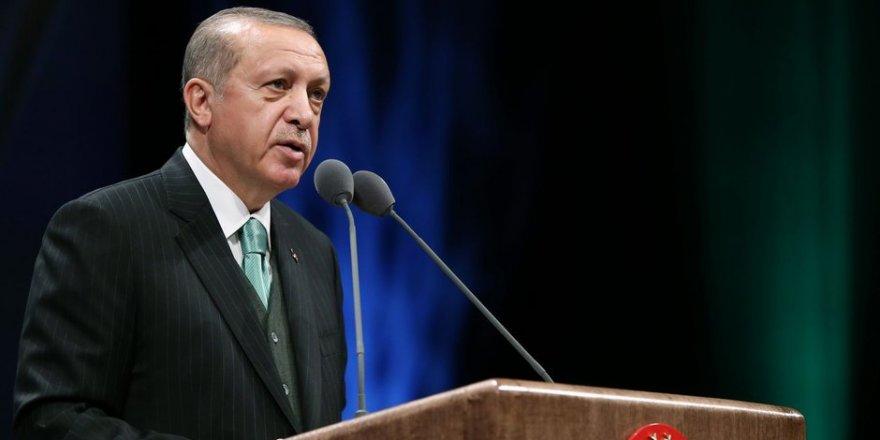 """Erdoğan """"Kur'an-ı Kerim'i Güzel Okuma Yarışması"""" Finaline Katıldı"""