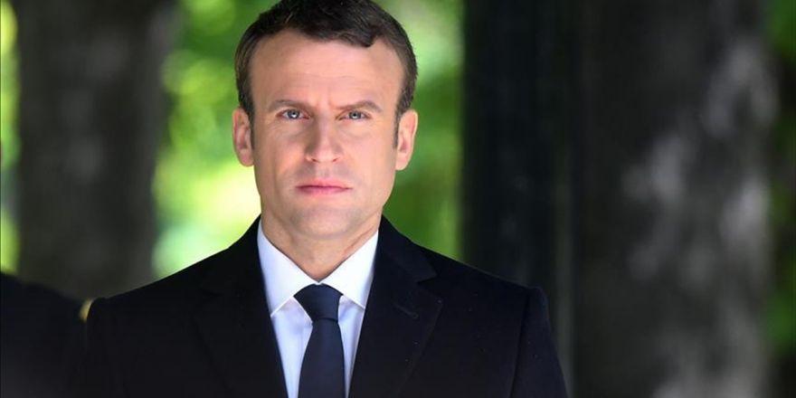 Macron'dan Suriye'de Kimyasal Silah Ultimatomu
