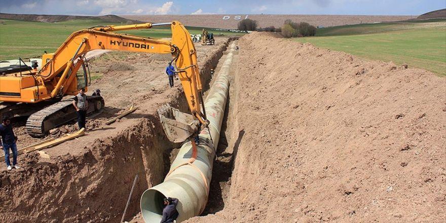 Nevruz İle 55 Bin Dekar Zirai Arazi Suyla Buluşacak