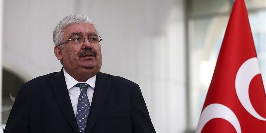 Mhp Genel Başkan Yardımcısı Yalçın: Chp, Fetö İle Hep Al Takke Ver Külah İlişkisi İçinde Olmuştur