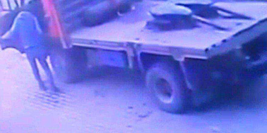 Araç çalan şüpheli gezerken yakalandı