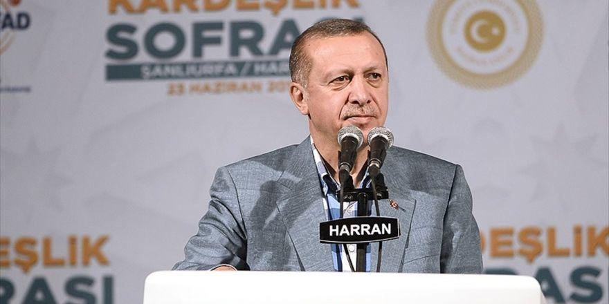 Cumhurbaşkanı Erdoğan: Türkiye'yi İtham Etmelerinin Nedeni Suriye'deki Oyunu Bozmamız
