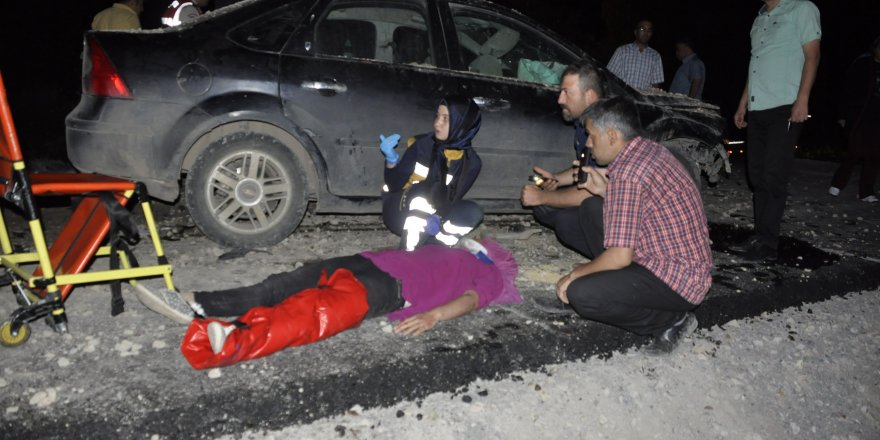 Seydişehir'de Trafik Kazası 6 Yaralı