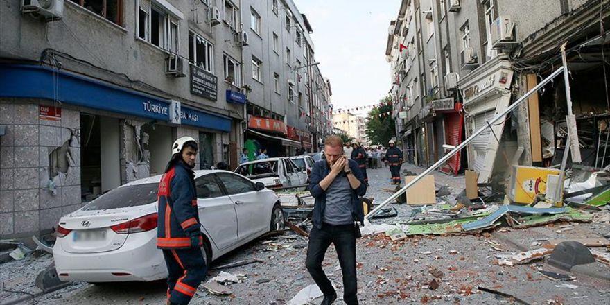 Bakırköy'de Bir İş Yerinde Patlama