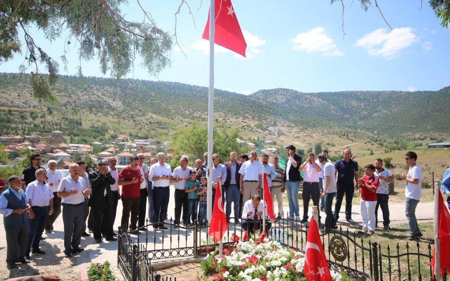 Babaoğlu, Beyşehir'de bayramlaştı