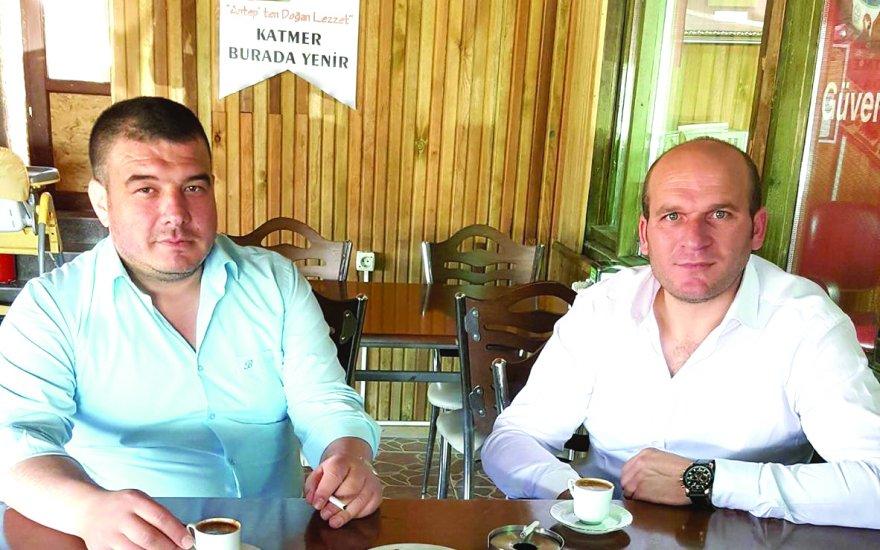 ADEM SEREN'DEN  KORUKENT'TE  BAYRAM ŞEKERİ