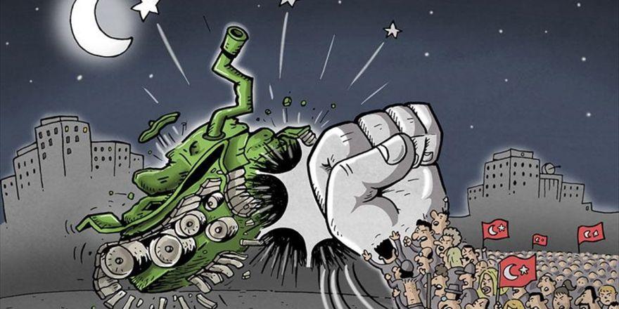 15 Temmuz Karikatür Ödülleri Sahiplerini Buldu