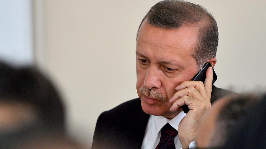 Erdoğan, Rivlin ile Mescid-i Aksa'yı görüştü