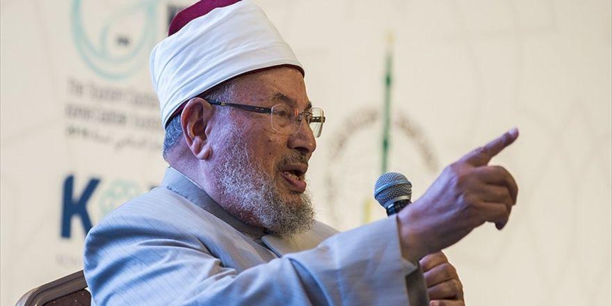 Dünya Müslüman Alimler Birliği Başkanı Karadavi: Kudüs, Tüm İslam Ümmetini İlgilendiren Bir Davadır