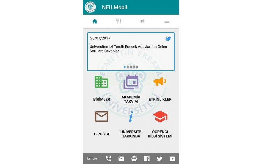 NEU Mobile tercih döneminde ilgi arttı