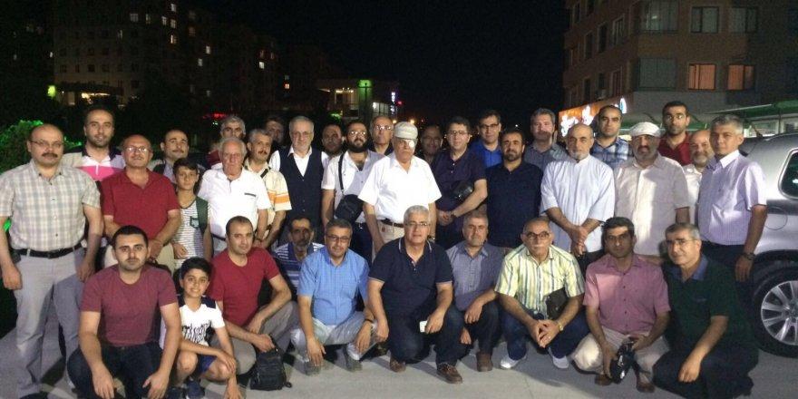 Konya'daki Adıyamanlılardan Mustafa Uslu'ya vefa
