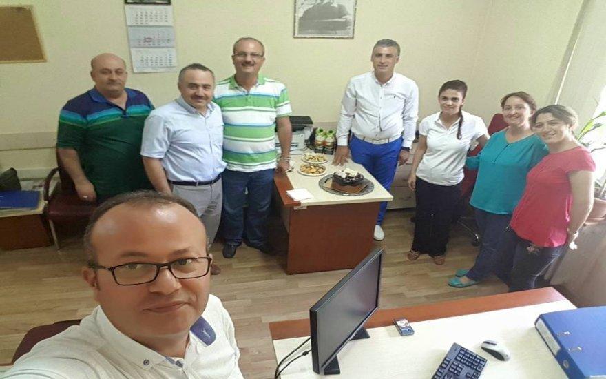Recep Özgül'e mutlu yıllar