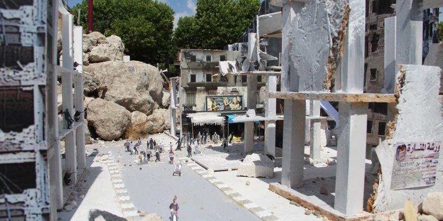 Hollanda'da 'Halep'i Yaşa' Minyatür Sergisi