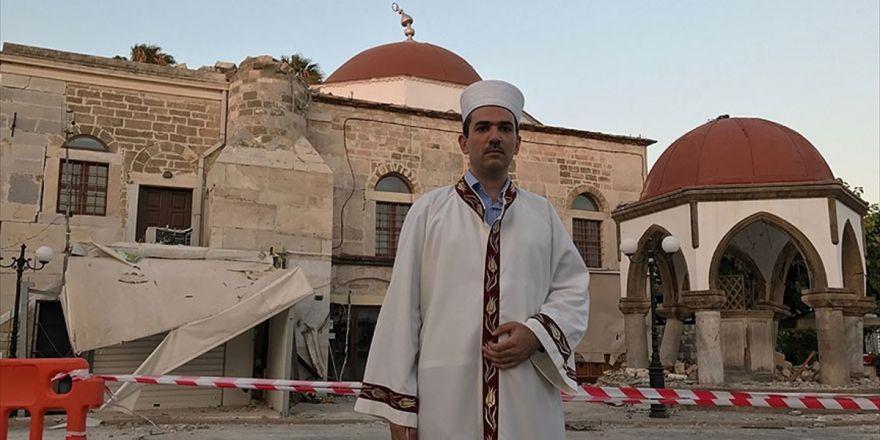 İstanköy'de Din Görevlisi Olan Alioğlu: Türkiye'den Caminin Tamiri İçin Yardım Bekliyoruz