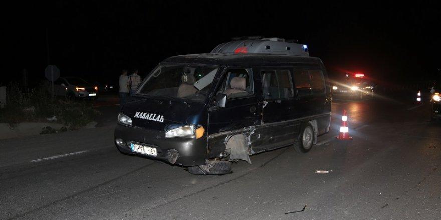 Karaman-Konya yolunda  kaza